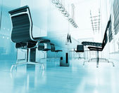 Interior moderno de escritório — Foto Stock