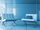 Lobby in is cared hotels — Stock Photo