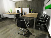 オフィスのモダンなインテリア — ストック写真