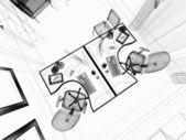 современный интерьер офиса — Стоковое фото