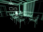 Office interior — Stockfoto