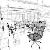 Interior de oficina — Foto de Stock