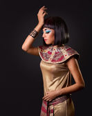 Portrait of a beautiful Egyptian woman — Stock Photo