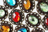 Color brooches — Stock Photo