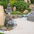 Small japanese garden — Foto de Stock