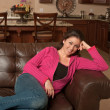 Relaxing at Home — Stock Photo