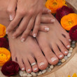 Stock Photo: Pedicure Spa