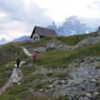 Stock Photo: Refuge Bertone - Courmayeur