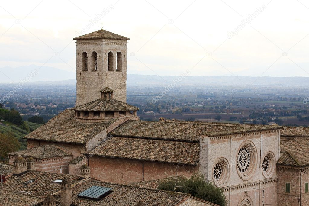 Chesa San Pietro - Assisi — Stock Photo #4233290