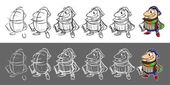 Step by step drawing director — Stock Photo