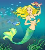 Fairy tale 1. Mermaid. — Stock Photo