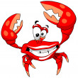 Stock Photo: Happy crab.