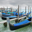 Stock Photo: Gondolas.
