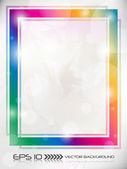 Vector fondo colorido abstractos — Vector de stock
