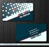 Juego de tarjetas creativas — Vector de stock