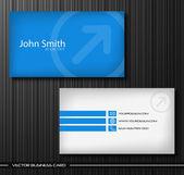 Set van creatieve visitekaartjes — Stockvector