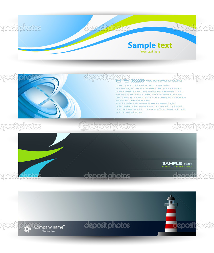 vector abstract banners for web header stock vector 169 palllpalll 5187544