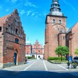 Ystad church panorama — ストック写真