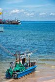 Hua Hin fishing boat 01 — Zdjęcie stockowe