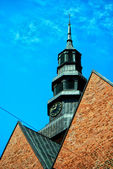 Ystad church — Stock Photo