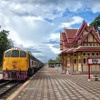 Stock Photo: HuHin train station 03