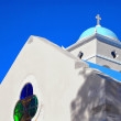 White church on crete 03 — ストック写真