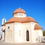 White church on crete 08 — Stock Photo