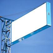 Hua Hin blank billboard 01 — Foto de Stock