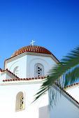 White church on crete 05 — Stock Photo