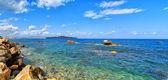 Theodori Nisida panorama — Stock Photo