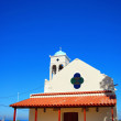 White church on crete 04 — Stock Photo
