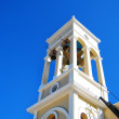 White church tower on crete — Stock Photo #5327934