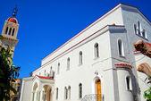 White church on crete 07 — Stock Photo