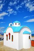 White church on crete 10 — Stock Photo