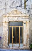 Porte grecque usée — Photo