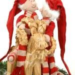 Santa lovers — Stock Photo