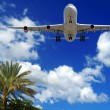 Plane at exotic destination — Stock Photo #4249450