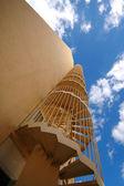 Scale e cielo — Foto Stock