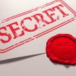 Secret document - Stockfoto