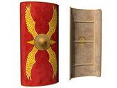 Roman Scutum Shield — Stock Photo