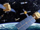 Kalabalık uzay — Stok fotoğraf