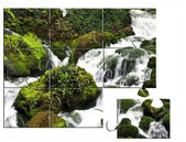 Jigsaw puzzle Nature — Stock Photo