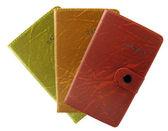 Trzy notebooki — Zdjęcie stockowe