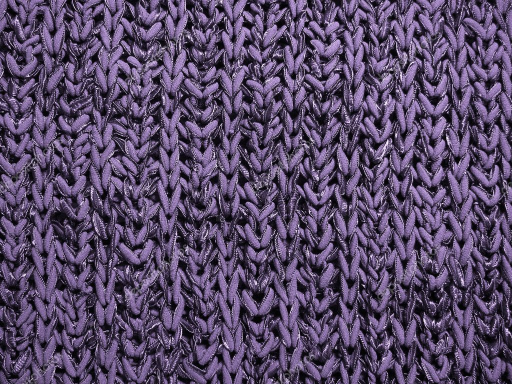 Abstract violet  pattern: close up of knitting sweater                                 — Stock Photo #4634196