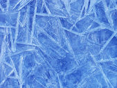 Buzlu yüzeyi — Stok fotoğraf