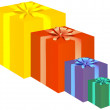 Stock Vector: Presents