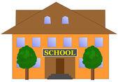 школа — Cтоковый вектор