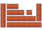 Filmstrips — Stock Vector