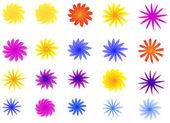 Blüten — Stockvektor