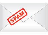 Spam letter — Stock Vector